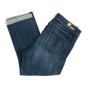 Kut From The Kloth Jeans Emma Straight Crop 12 W33